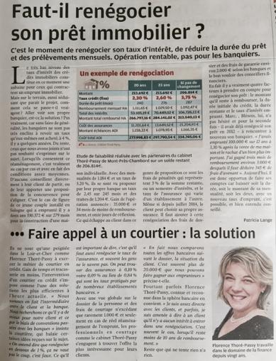 voeux gestion de patrimoine 2015 Cabinet thoré passy